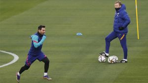 Messi, titular en la final de la Supercopa