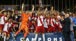 Copa Catalunya celebración