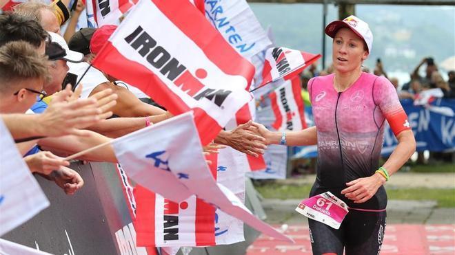 Daniela Ryf en IRONMAN Austria 2019