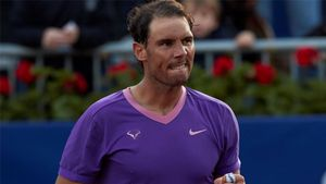 Rafa Nadal derrota a Kei Nishikori en el Open Banc Sabadell