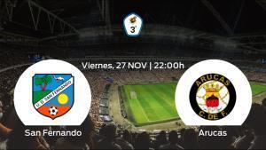 Jornada 6 de la Tercera División: previa del duelo San Fernando - Arucas