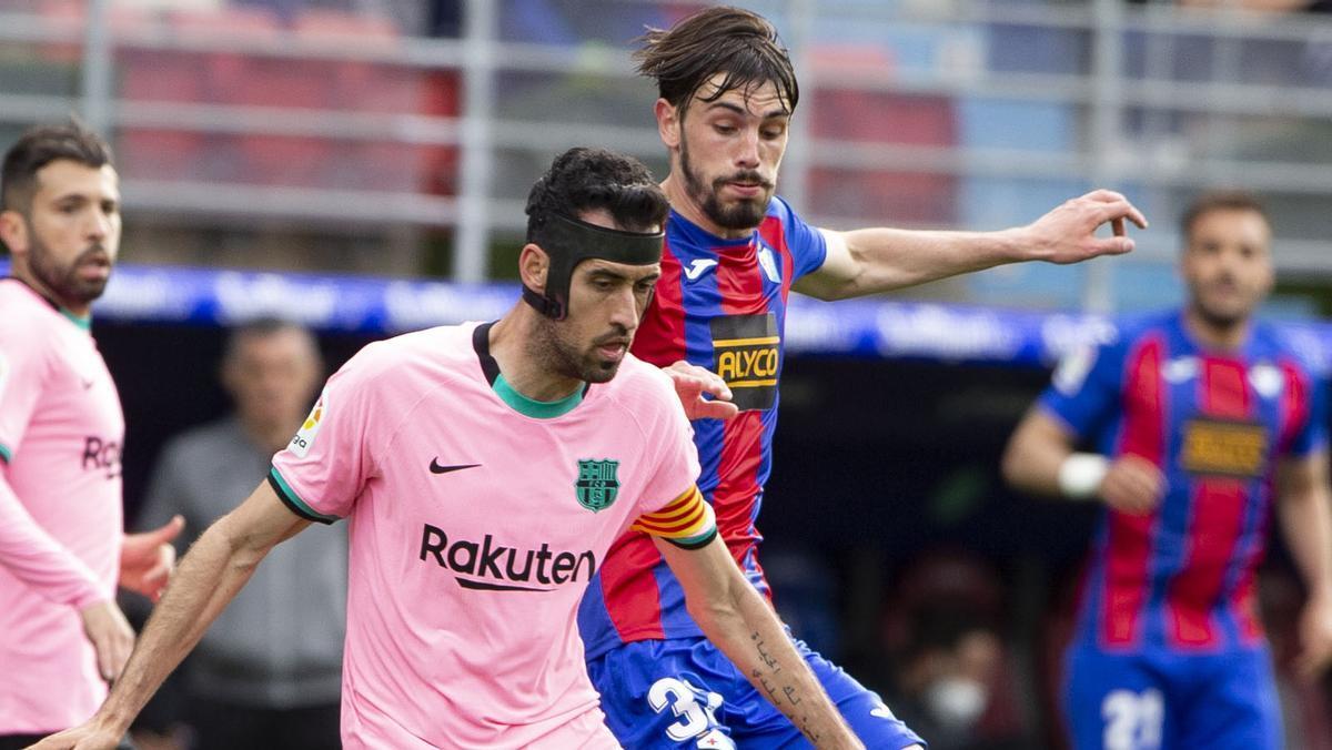 El 1x1 del Barça ante el Eibar