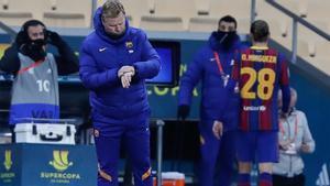 Koeman, tras perder la final de la Supercopa: Estamos decepcionados