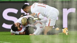 El resumen de la victoria in extremis del Sevilla en Krasnodar