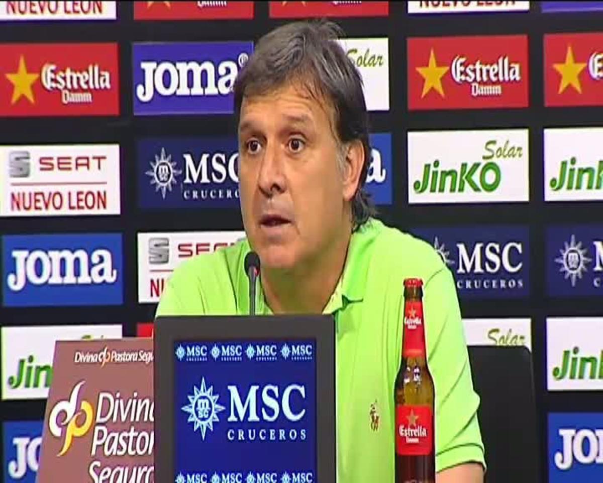 Martino, satisfecho por la victoria