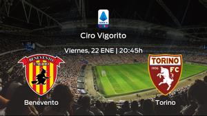 Previa del partido: el Benevento recibe en casa al Torino