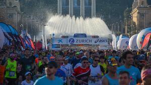 ¡Vuelve la Zurich Marató Barcelona!