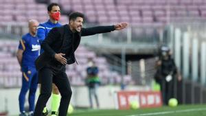Simeone: Esto será así hasta el final; partido a partido