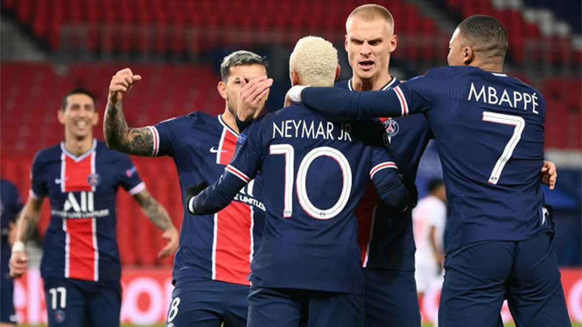 Neymar se viste de héroe ante el Leipzig y da un respiro al PSG