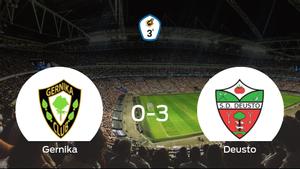 Goleada del Deusto en el estadio del SD Gernika (0-3)