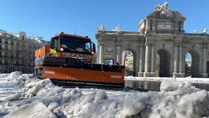 Madrid pide que se declare zona catastrófica tras los daños causados por Filomena