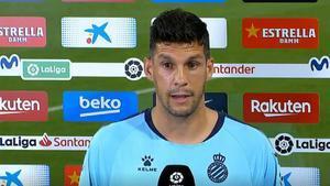 Javi López: Salgo aquí es para pedir disculpas a nuestra afición