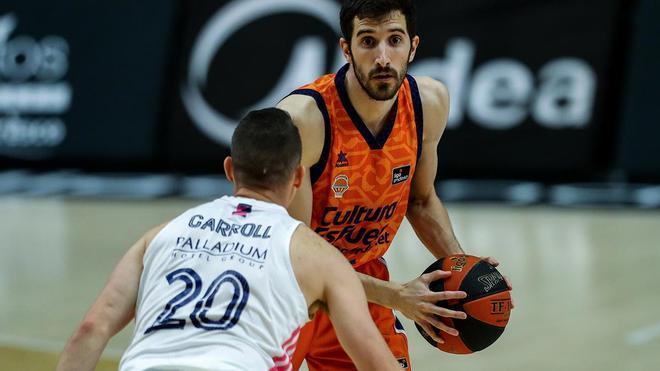 Madrid - Valencia Basket de la Liga Endesa, en directo