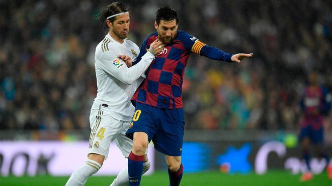 Messi igualará a Ramos en los clásicos