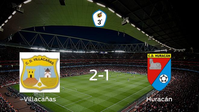 El Villacañas vence 2-1 al Huracán de Balazote y se lleva los tres puntos