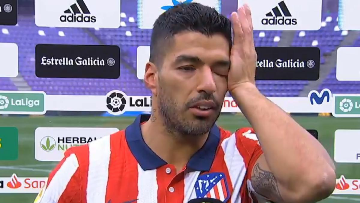 Las lágrimas de Luis Suárez tras ganar LaLiga: Me menospreciaron