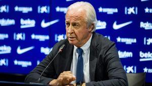Carles Tusquets, presidente de la Junta Gestora del FC Barcelona