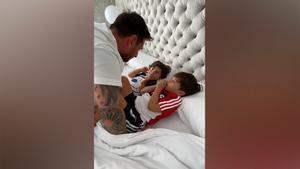 Papá Messi: ¡el lado más tierno de Leo con sus hijos por el Día del Padre!