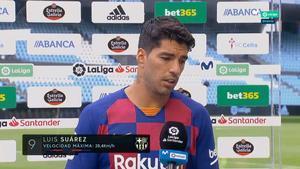 Luis Suárez: Perdemos dos puntos más que importantes