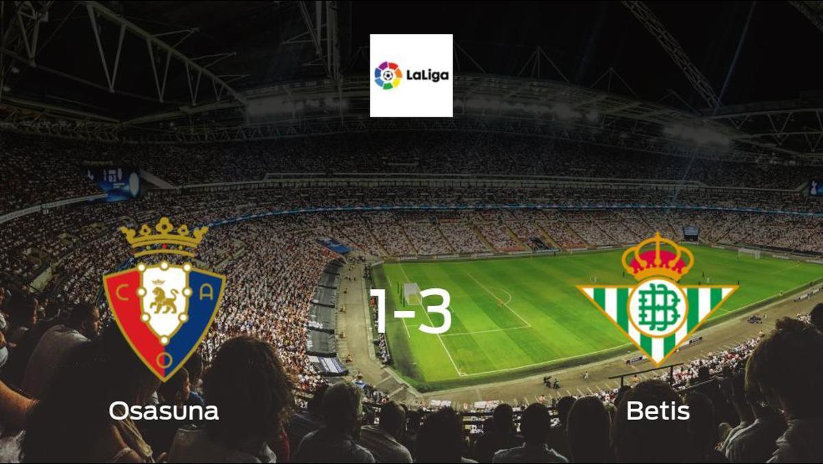 Real Betis earn hard-fought win over Osasuna