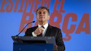 Laporta cree que no se está respetando suficientemente al Barça