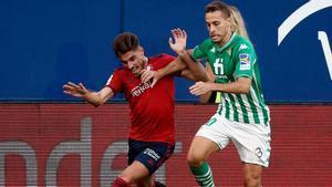 El resumen del partido entre Osasuna y Betis