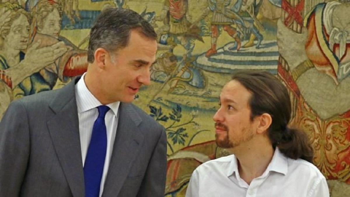 Pablo Iglesias recibe críticas por estas declaraciones sobre el rey Felipe VI