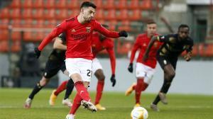 Pizzi Fernandes marcó de penalti ante el Standard de Lieja