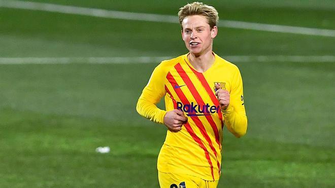 La explosión de De Jong en el Barça