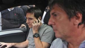 Jorge y Leo Messi