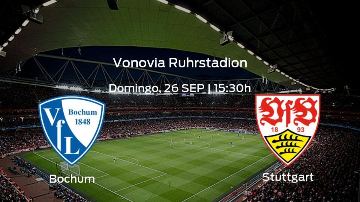 Previa del partido: el Bochum recibe en su feudo al Stuttgart