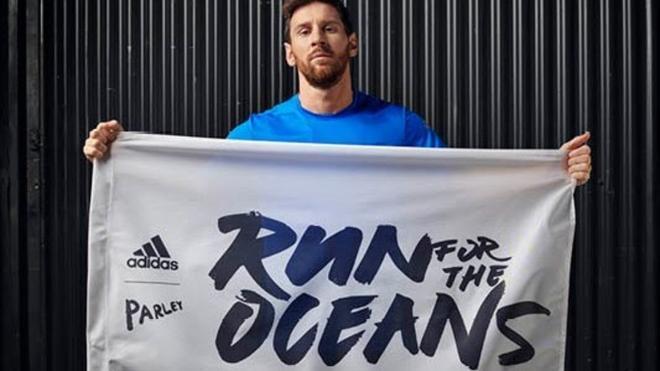 Messi, protagonista en el nuevo Run for the Oceans