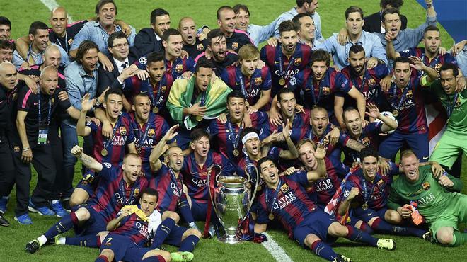 Tal día como hoy en 2015 el Barça ganaba su última Champions