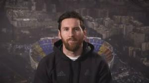 El mensaje de Messi tras ganar el Laureus 2020