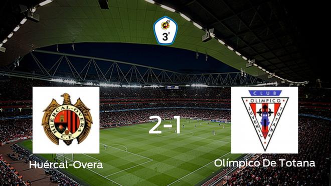 El Huércal-Overa gana 2-1 en su estadio ante el Olímpico De Totana