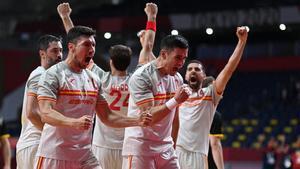 Francia - España, de balonmano en directo