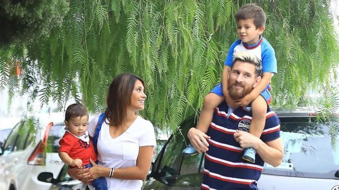 Leo Messi y su familian viven en Castelldefels