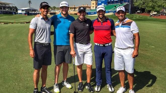 Sergio García, bien arropado en Dubai junto a Cabrera-Bello, Rahm, Otaegui y Larrazábal