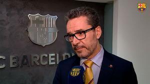 Josep Vives explica las medidas del Barça por el coronavirus