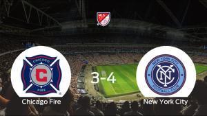 El New York City se lleva los tres puntos frente al Chicago Fire (3-4)