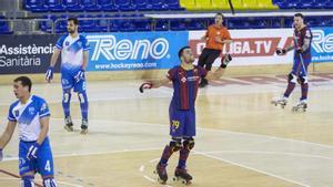 Joao Rodrigues marcó sus dos goles en la primera parte