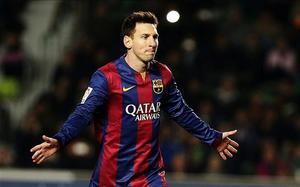 Messi ya suma 21 goles