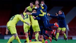 El Villarreal, un finalista imbatido de la Europa League