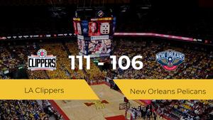 LA Clippers se queda con la victoria frente a New Orleans Pelicans por 111-106