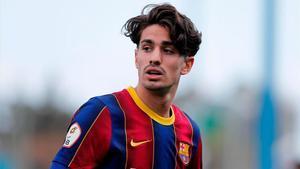 Collado no salió cedido del Barça y estudian su futuro