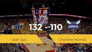 Victoria de Utah Jazz ante Charlotte Hornets por 132-110