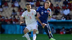 Sergio Busquets dio un recital en su regreso a la selección española como capitán