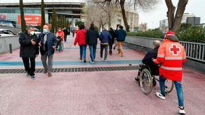Menos afluencia de socios en las primeras horas de la tarde en el Camp Nou