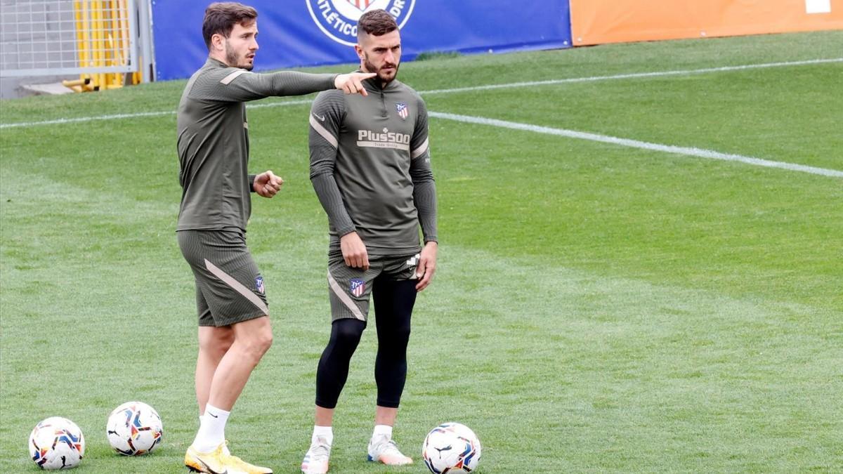 Así ha sido la primera sesión del día para el Atlético de Madrid