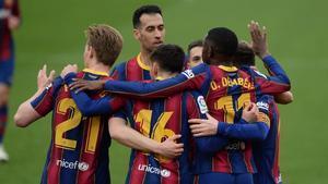 Gran victoria del Barça